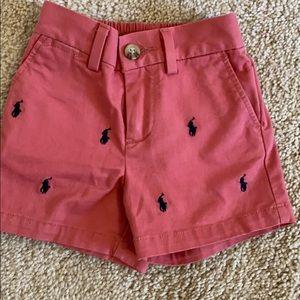 NWOT Ralph Lauren Boys shorts 9M